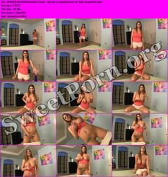 JerkOffInstructions.com [10.03.2015] Brooklyn Chase - My pervy stepdad jerks off with my panties Thumbnail