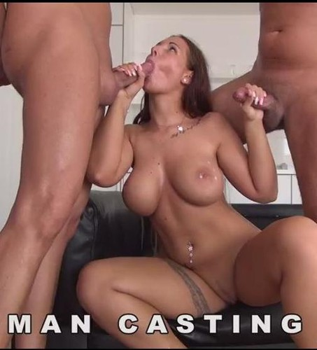 Kira Hot – Busty  Anal Casting – X 112 Threesome sex – Woodman Casting X