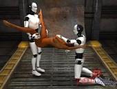 Romcomics Negro and Robots
