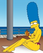 MARGE SIMPSON ARTWORK