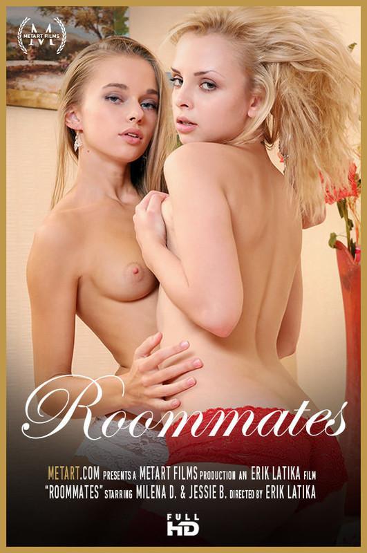 MetArt : Jessie.B And Milena.D - Roommates