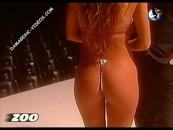 Monica Ayos hot booty in g-string damageinc videos