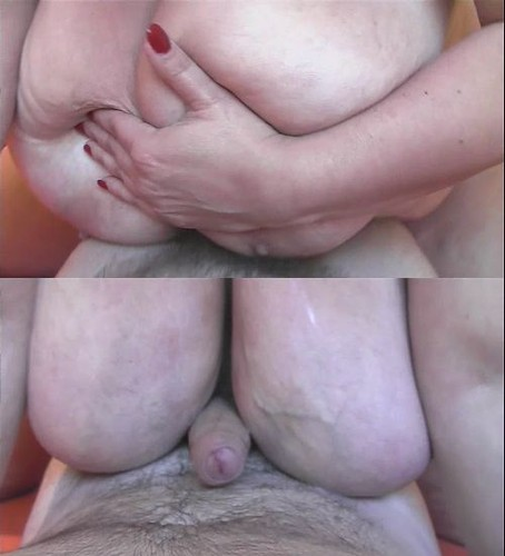 Enormous Busty BBW Mature BJ and Huge Boobs Cumshot HD