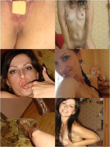 Lusty Hot Milf Slaps Her Wet Pussy