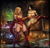 Fantasy artwork - Vempire