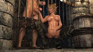 Elven Desires Prison Perils