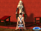 Great bdsm comic Mistress and Maid by 3dSexDream
